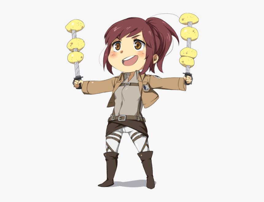 Potato Girl Anime Chibi Png, Transparent Png, Free Download