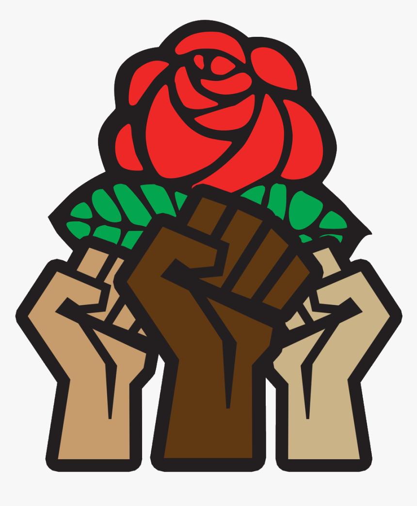 Democratic Socialists Of America Slogans , Png Download - Democratic Socialist Logo, Transparent Png, Free Download