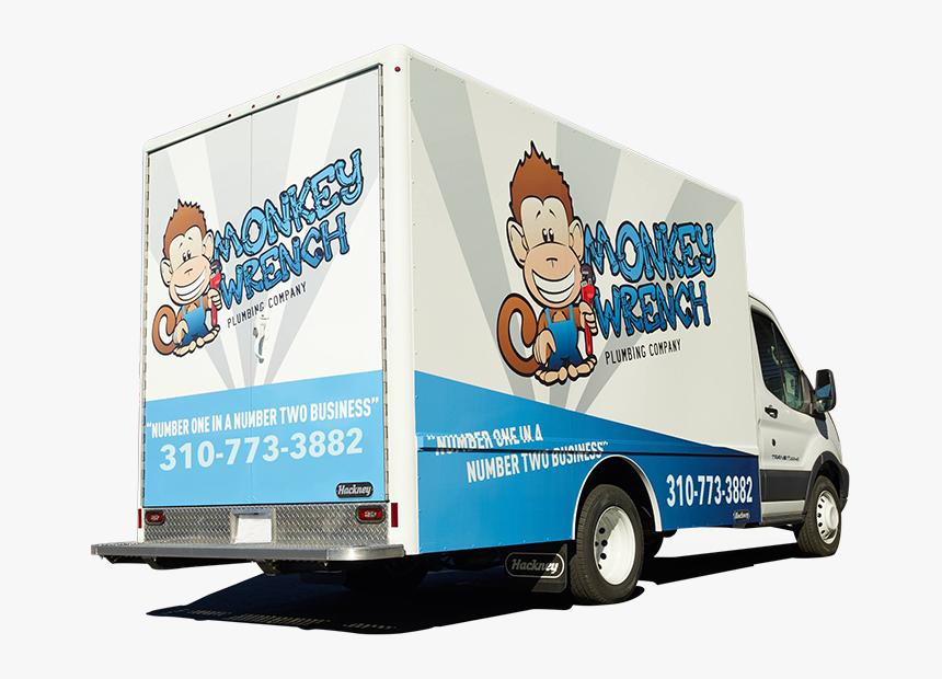 Monkey Wrench Plumbing Van Photo - Monkey Wrench Plumbing, HD Png Download, Free Download