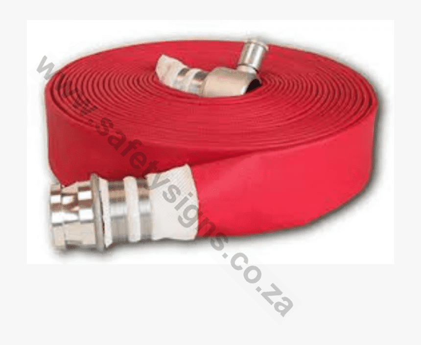 Fire Tech Layflat Fire Hose 65mmx30m C W Couplings - Wire, HD Png Download, Free Download