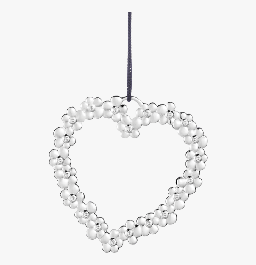Flower Heart H7 5 Silver Plated Karen Blixen - Karen Blixen Juleoppheng Rosendahl, HD Png Download, Free Download