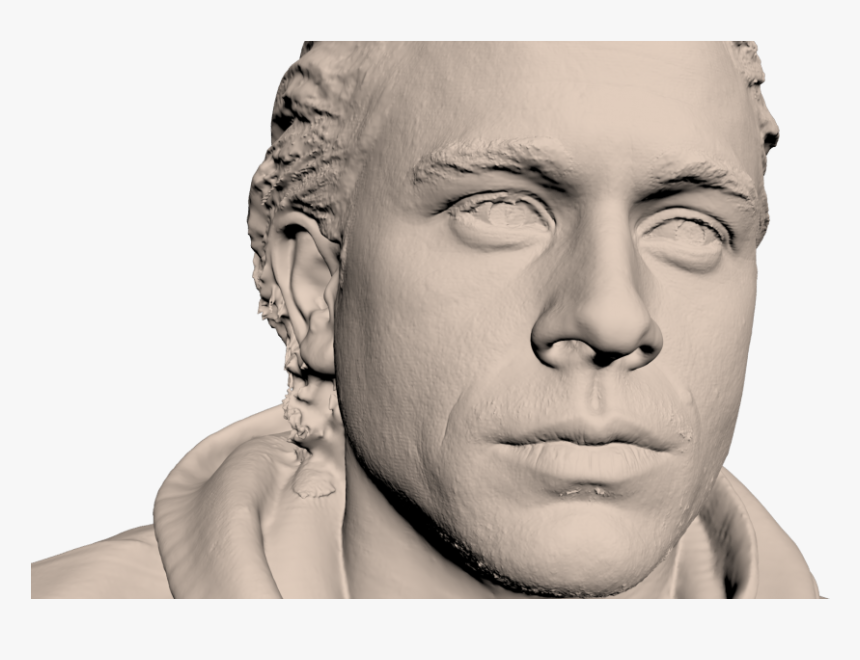 Charlie Hunnam Sons Of Anarchy 3d Scan - Human, HD Png Download, Free Download