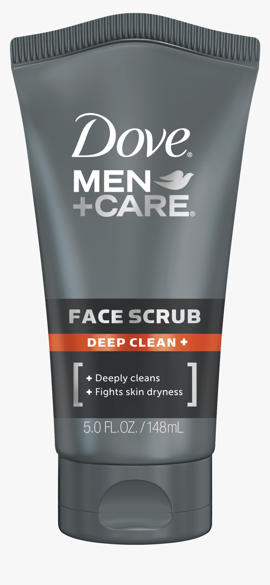 Dove Men Care Deep Clean Face Scrub 5 Oz - Dove Men Care Hydrate Face Wash, HD Png Download, Free Download