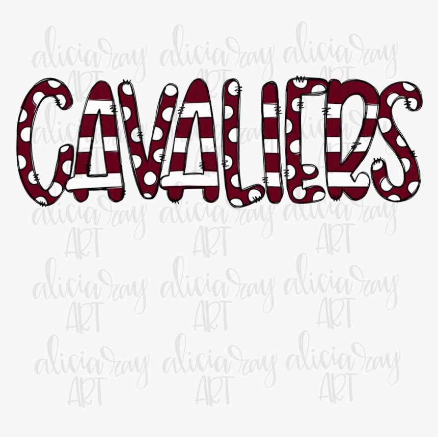 Cavaliers Example Image - Calligraphy, HD Png Download, Free Download