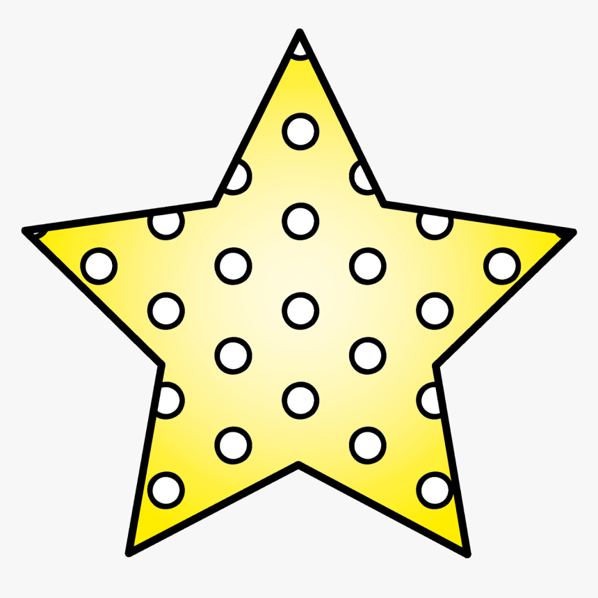 Appliqué Christmas Stars Five-pointed Star Pattern - Star Writing Template With Lines, HD Png Download, Free Download