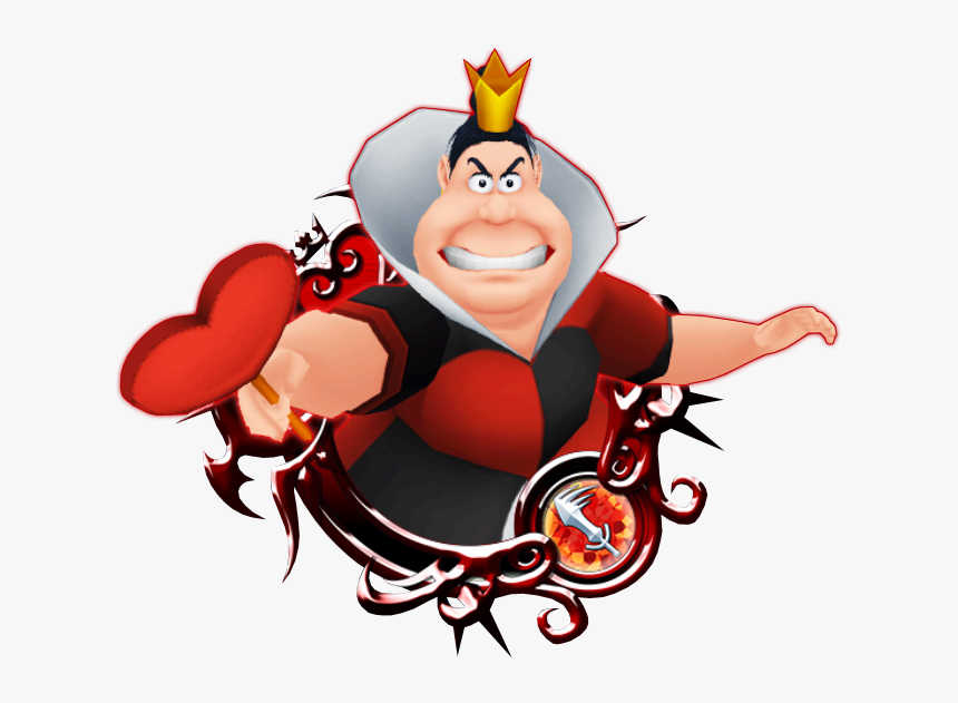 Queen Of Hearts - Kingdom Hearts Roxas Xion Axel, HD Png Download, Free Download