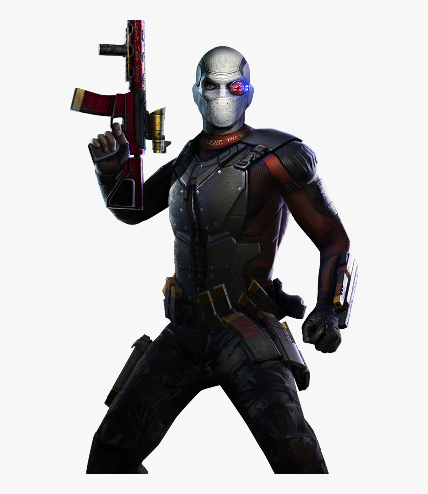 Download Gallery Image - Injustice Gods Among Us Deadshot, HD Png Download, Free Download