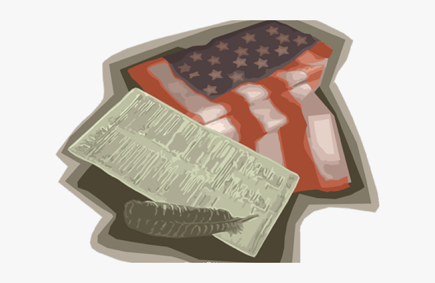 Declaration Of Independence Clipart Independence Transparent - Flag, HD Png Download, Free Download