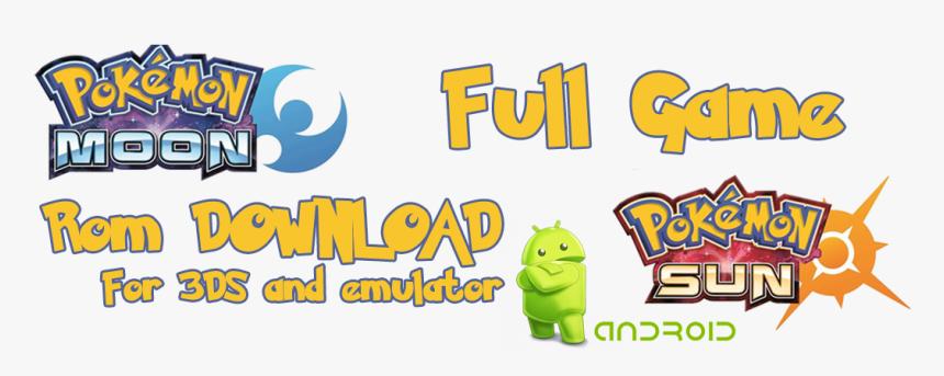 Pokemon Sun Apk And Pokemon Moon Apk - Pokemon, HD Png Download, Free Download