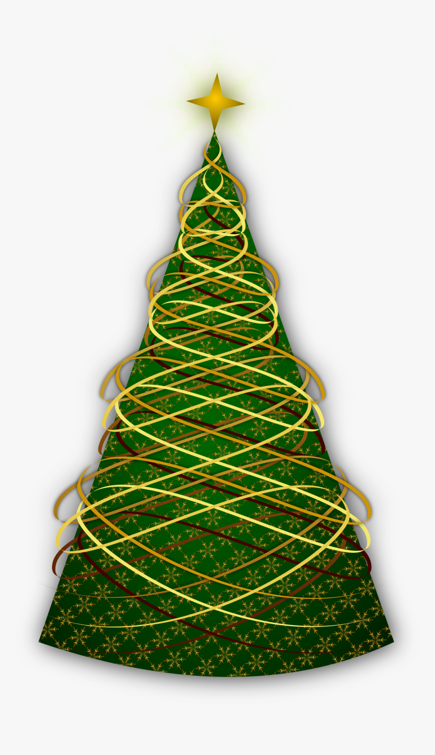 Christmas Tree Christmas Ornament New Year Tree - Elegant Png Christmas Tree, Transparent Png, Free Download