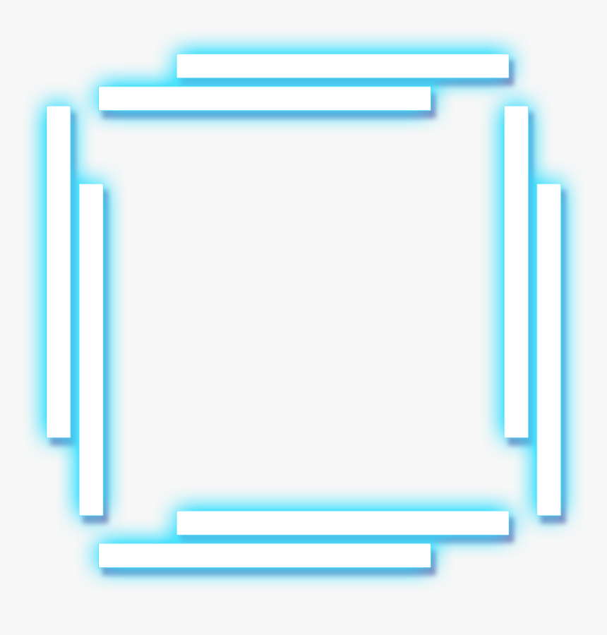 Png Neon Lines Square Transparent Png Kindpng Square, fashion square background symmetry, infographic, blue png. png neon lines square transparent png