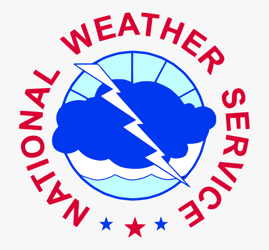 National, Weather, Service, Government, Logo, Cloud - National Weather Service Logo, HD Png Download, Free Download