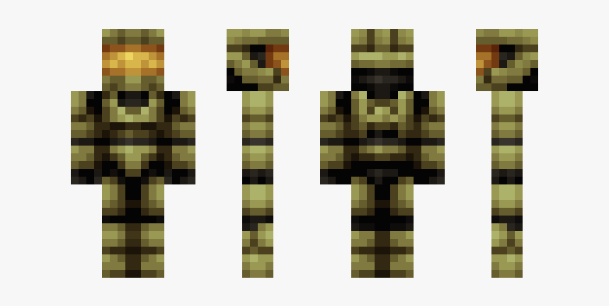 Skin De Master Chief Para Minecraft Pe, HD Png Download, Free Download