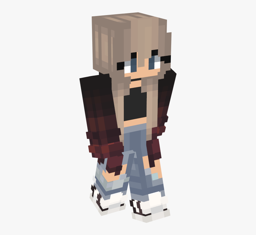 Minecraft Girl Skins 2018, HD Png Download, Free Download