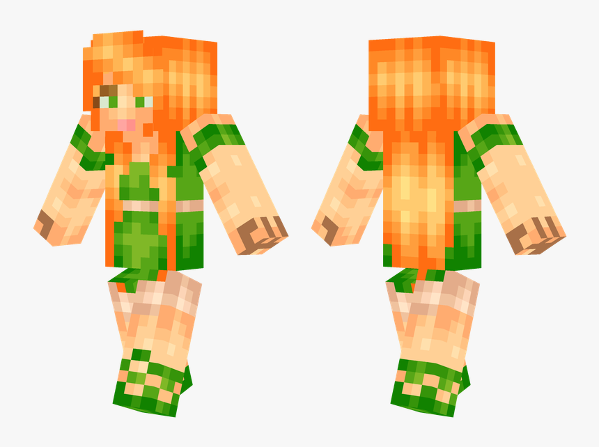 Pocket Edition , Png Download - Minecraft Girl Skins Pocket Edition, Transparent Png, Free Download