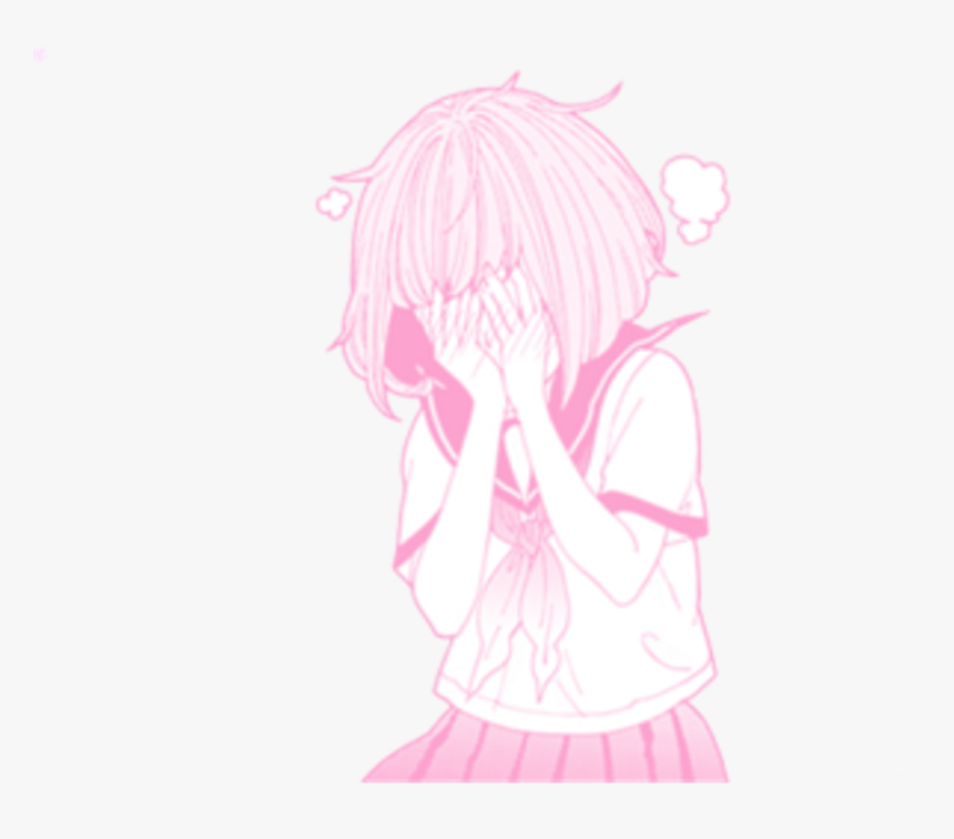 Transparent Cute Png Tumblr - Pink Anime Aesthetic Png, Png Download, Free Download