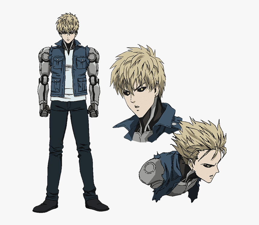 One Punch Man Png -view Fullsize Genos Image - Genos One Punch Man Characters, Transparent Png, Free Download