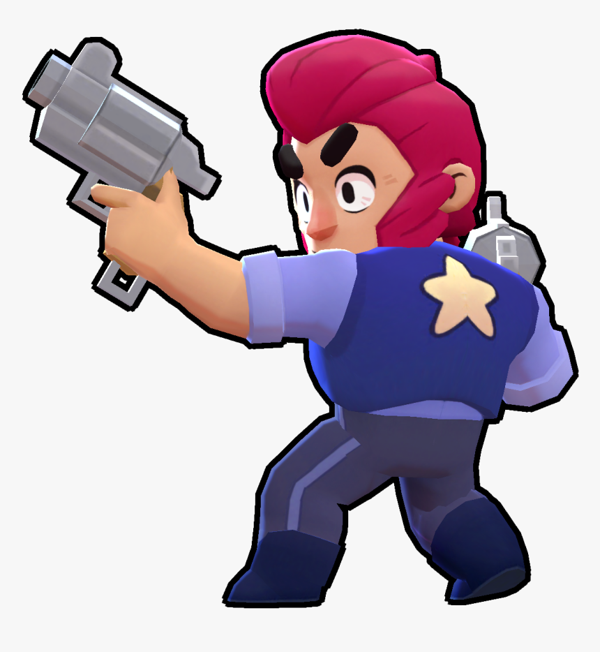 Brawl Stars Png Render Clipart , Png Download - Colt Brawl Stars, Transparent Png, Free Download