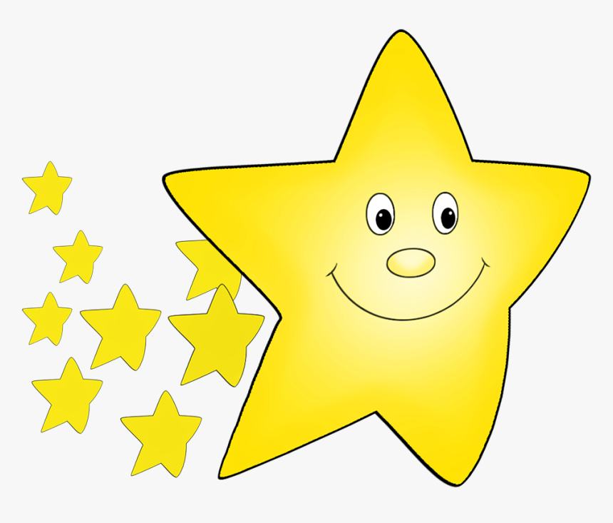 Red Flying Star Drawing - Flying Star Cartoon Gif, HD Png Download, Free Download