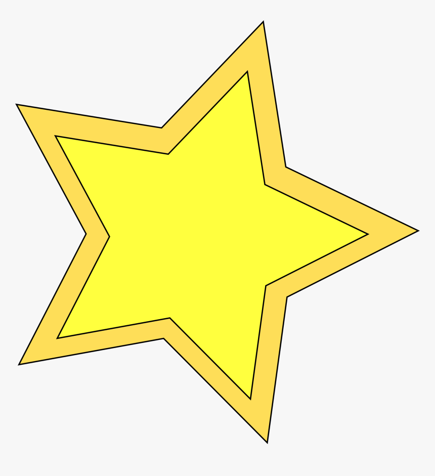 Yellow Stars Clipart Desktop Backgrounds - Star Clipart Free, HD Png Download, Free Download