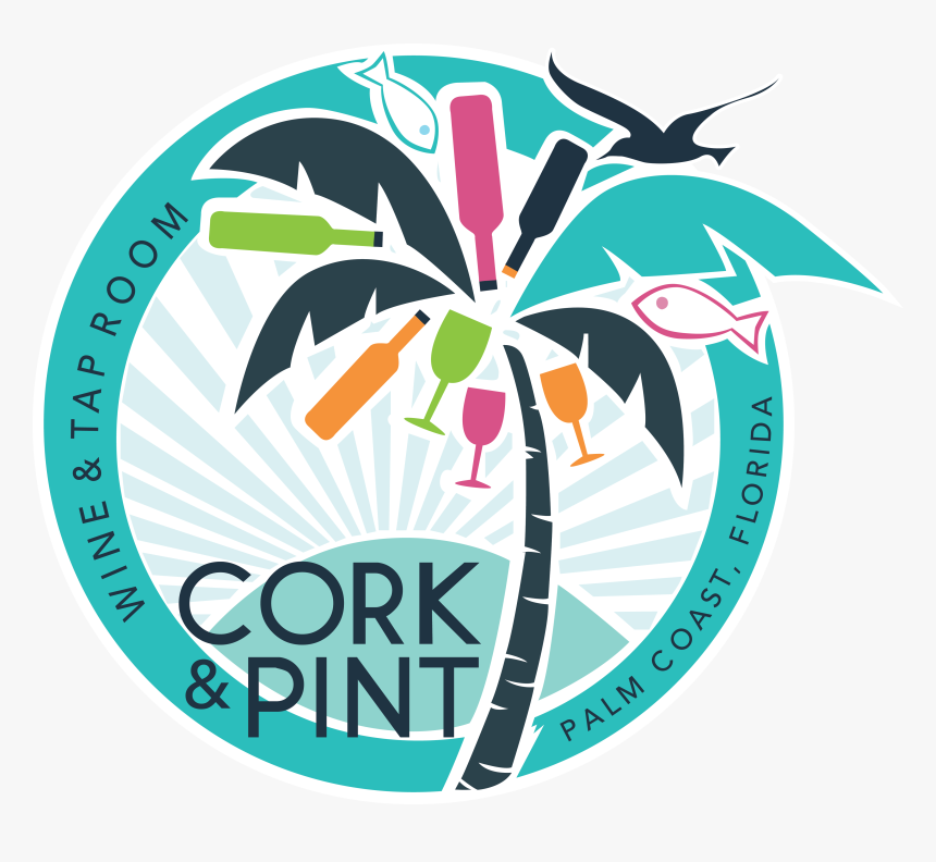 Cork & Pint - Graphic Design, HD Png Download, Free Download