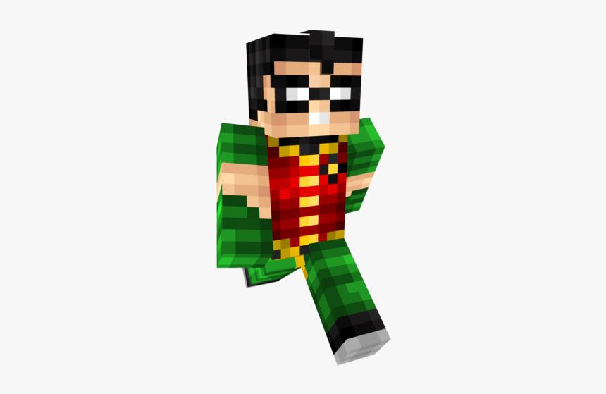 Skin De Robin Para Minecraft, HD Png Download, Free Download