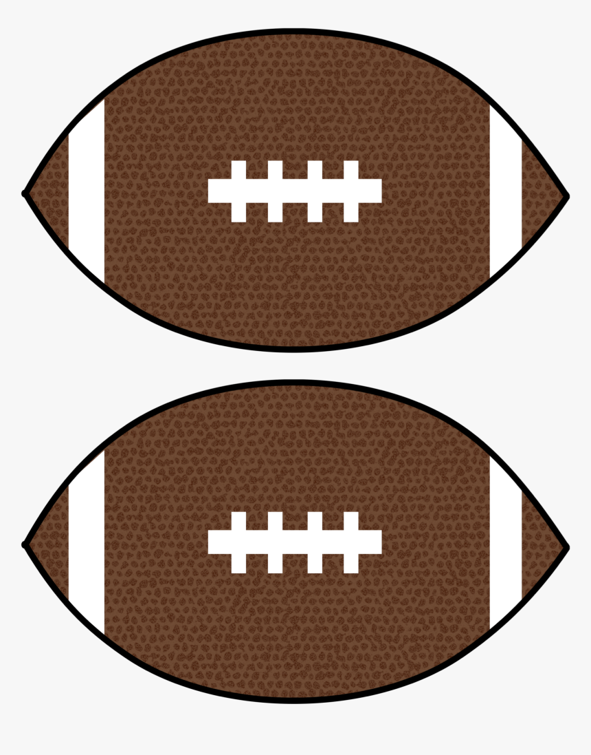 Click The Following Links To Print The Cheap Super - Football Diy Decorations, HD Png Download, Free Download