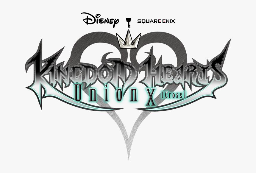 Kingdom Hearts Union X Logo, HD Png Download, Free Download