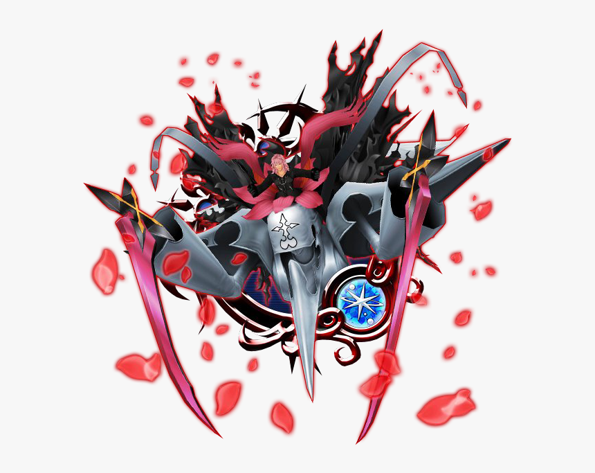 Kingdom Hearts Marluxia Boss, HD Png Download, Free Download