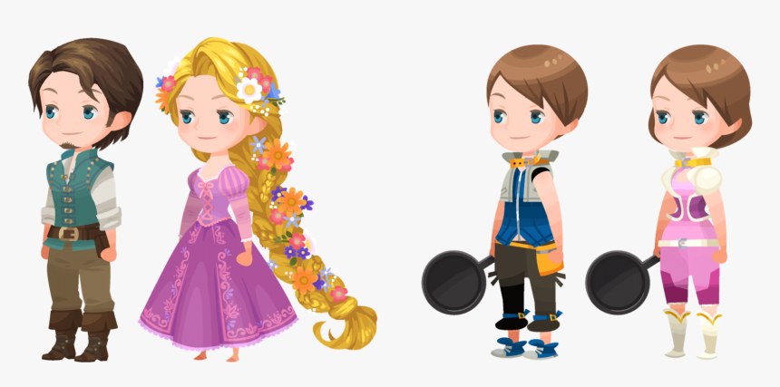 Transparent Marluxia Png - Kingdom Hearts Union X Avatar Outfits, Png Download, Free Download