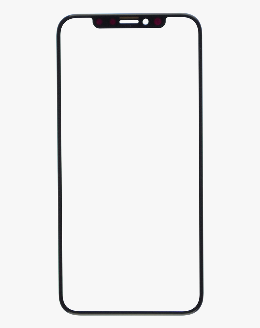 Phone Screen Png - Iphone X Wireframe Png, Transparent Png, Free Download