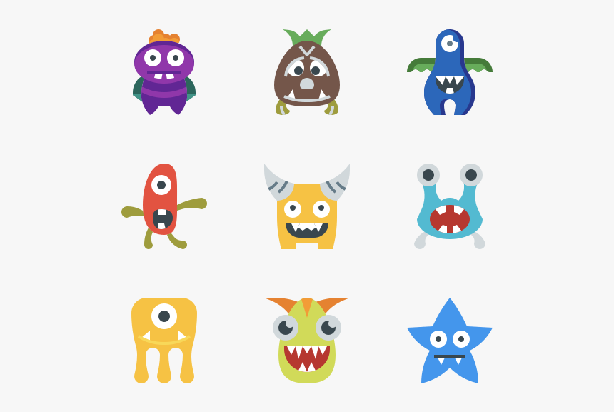 Monster - Cartoon, HD Png Download, Free Download