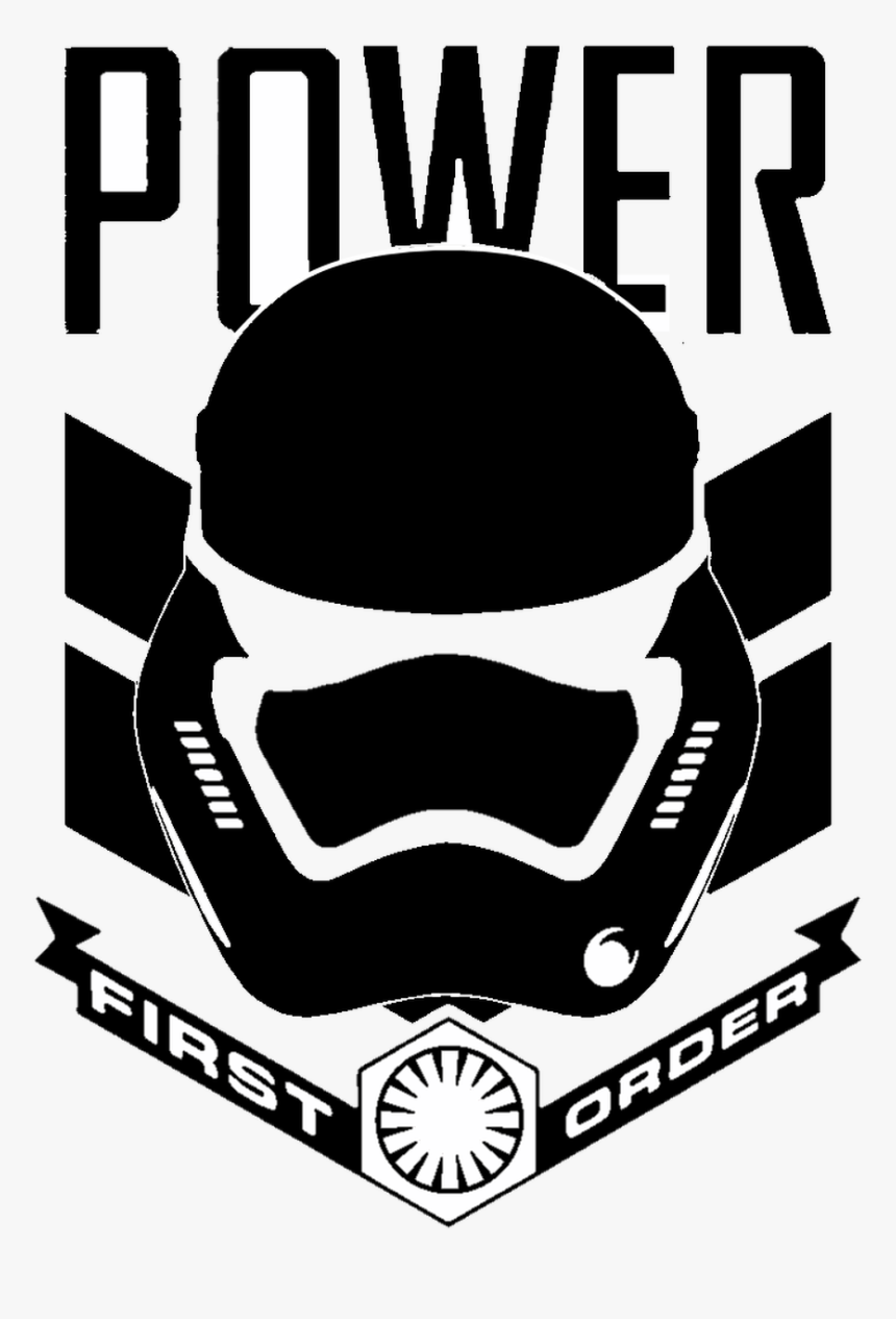 Star Wars First Order Stormtrooper Power - First Order Stormtrooper Decal, HD Png Download, Free Download