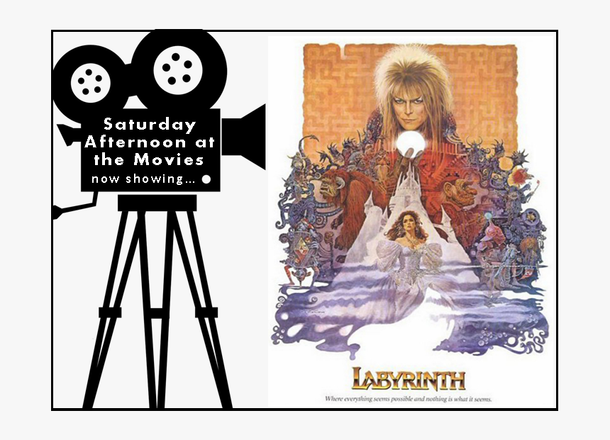 Saturday Afternoon At The Movies Logo Featuring The - Labyrinth Jim Henson Poster, HD Png Download, Free Download