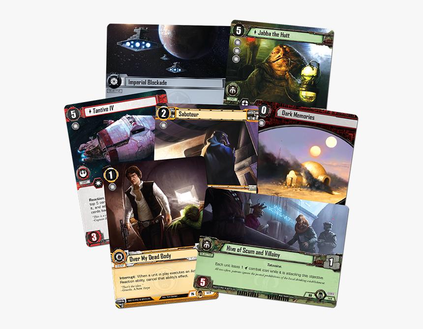 Transparent Star Wars - Star Wars Fantasy Flight Games Card, HD Png Download, Free Download
