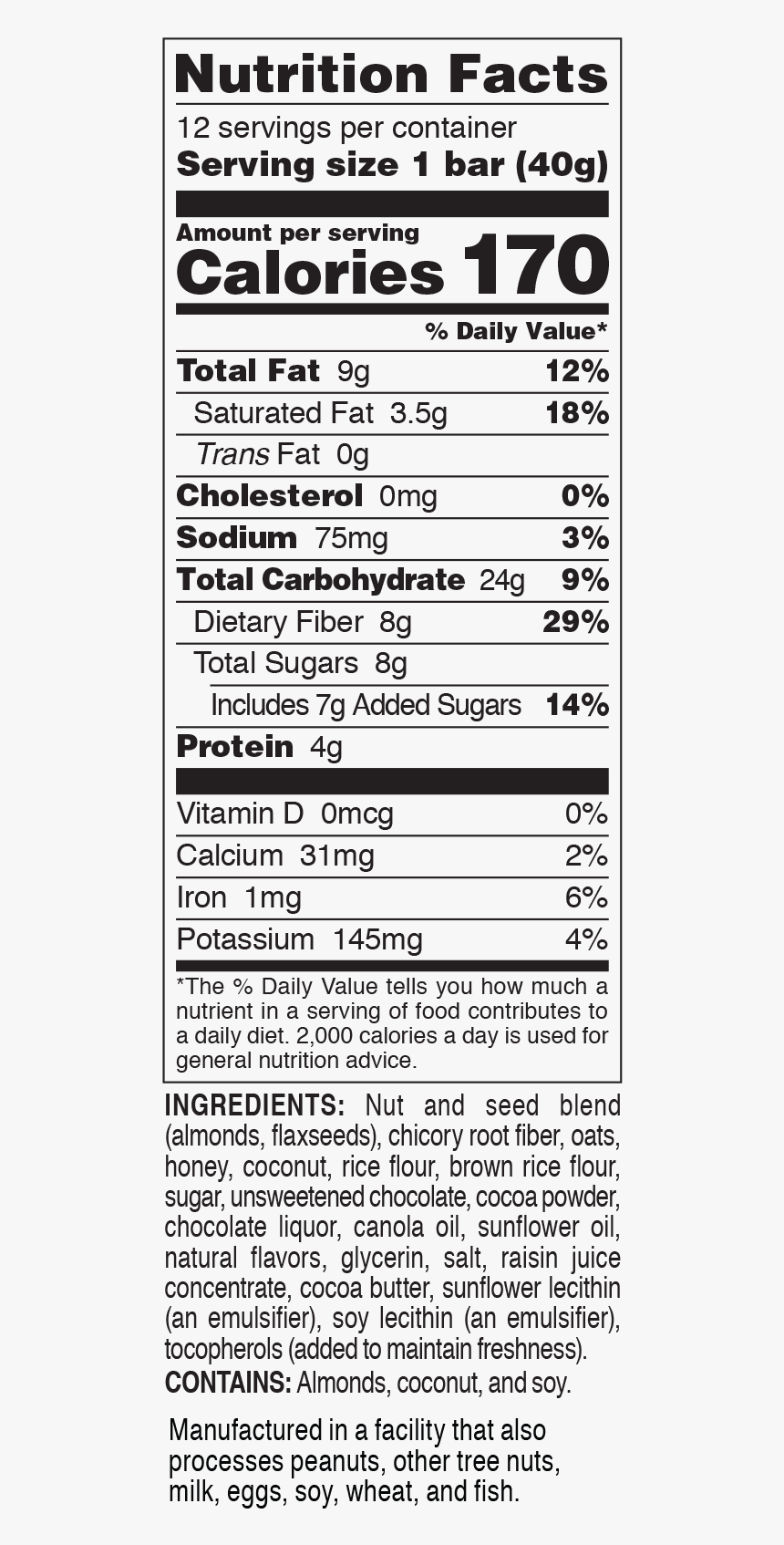 1 Cup Oats Nutrition Facts Hd Png Download Kindpng