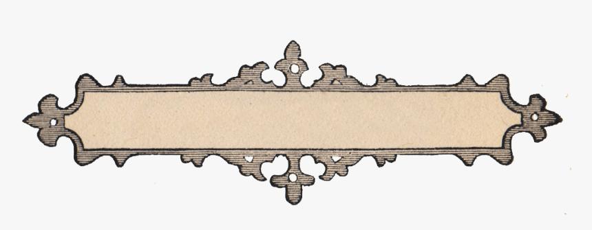 Free Vintage Clip Art - Ornate Frame Clip Art, HD Png Download, Free Download