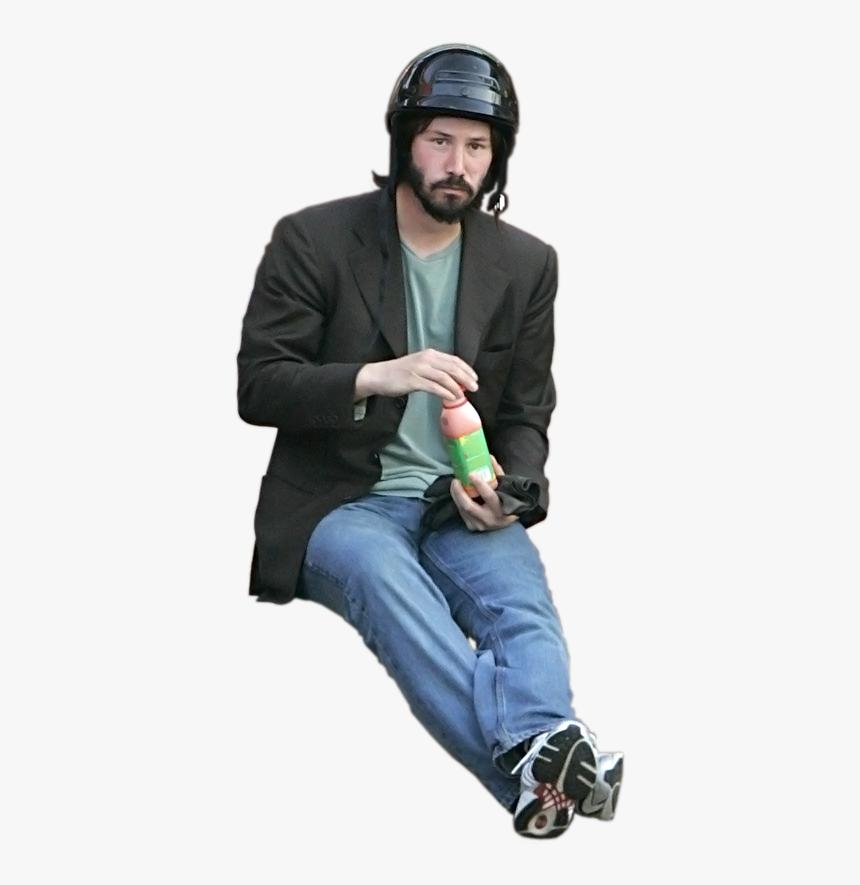 Transparent Sad Keanu Png - Keanu Reeves Meme, Png Download, Free Download
