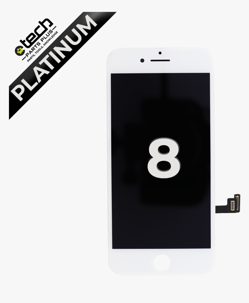 Platinum Lcd Assembly For Use With Iphone 8 - Iphone, HD Png Download, Free Download