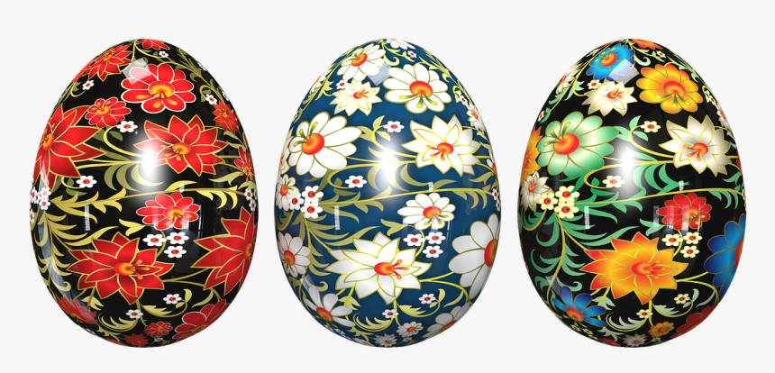 Easter Eggs,of Chickens,painted Eggs,transparent Background,free - Transparent Background Chicken Egg Transparent, HD Png Download, Free Download