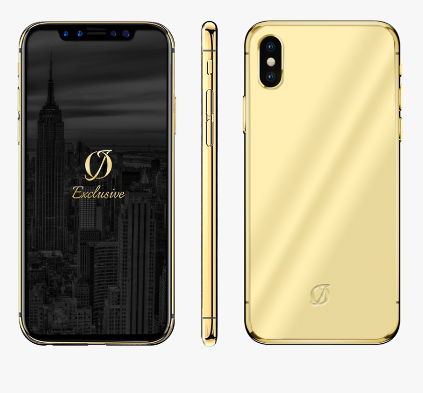 Gold Iphone X Case, HD Png Download, Free Download