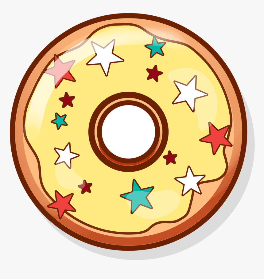 Donut Clipart Yellow - You Donut Know How Much I Love You, HD Png Download, Free Download
