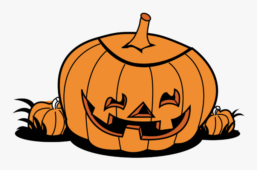 """The Irish Child""""s Typical Halloween Flashlight Was - Transparent Background Pumpkin Clipart, HD Png Download, Free Download"""