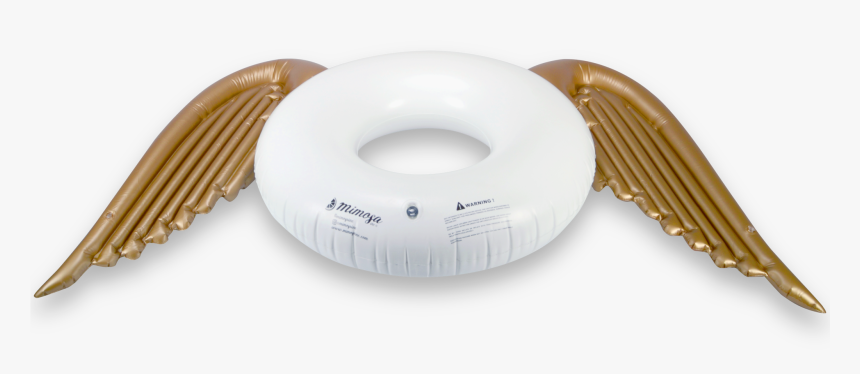Angel Wings Round Tube Pool Float - Angel Wings Floating Wheel, HD Png Download, Free Download