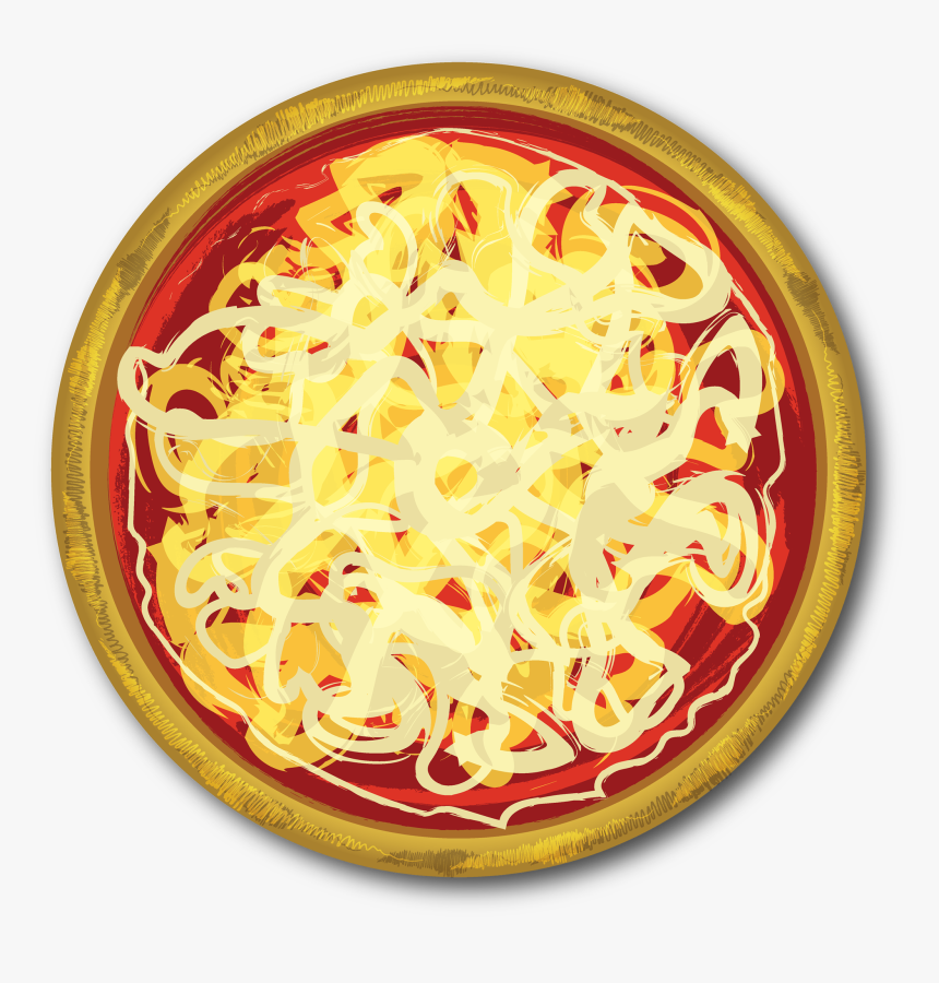 Cheese Vector Pizza - Clipart Cheese Pizza Cartoon, HD Png Download, Free Download