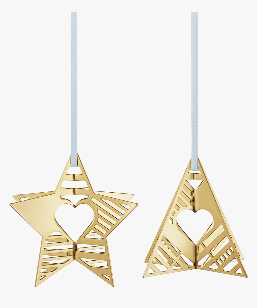 2019 Holiday Ornaments, Star And Tree - Georg Jensen Christmas Ornaments 2019, HD Png Download, Free Download