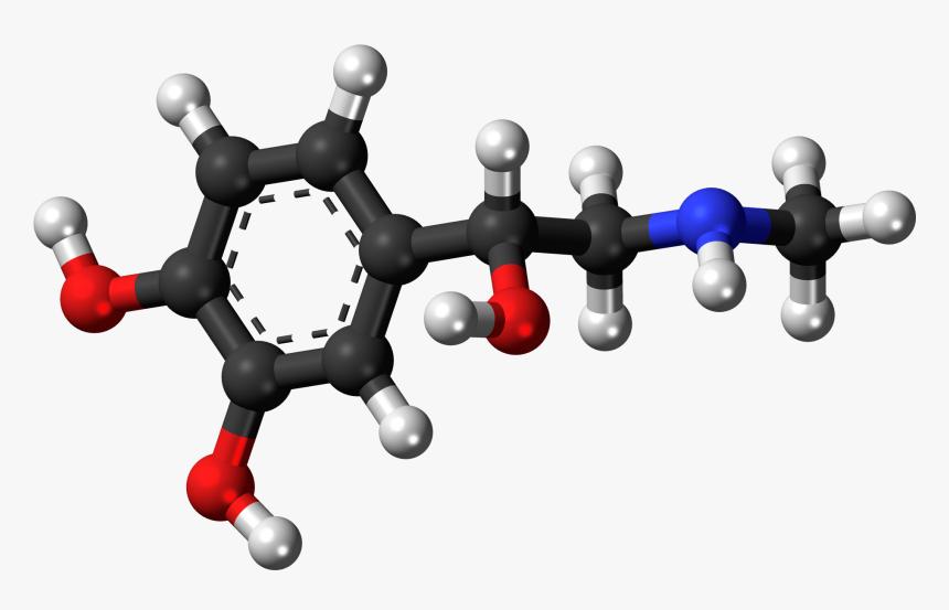 Epinephrine 3d Model, HD Png Download, Free Download