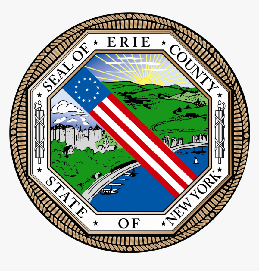 Erie County Ny Logo, HD Png Download - kindpng