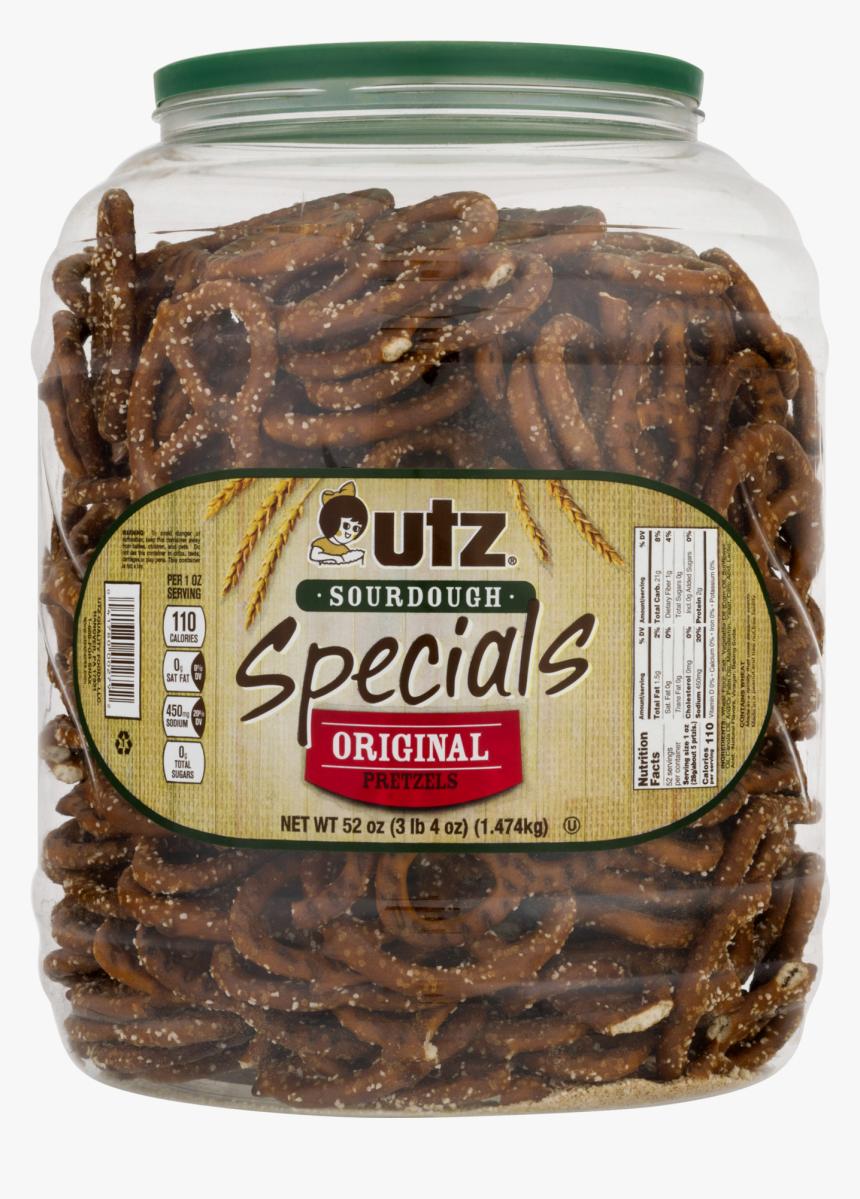 Utz Sourdough Pretzels, HD Png Download