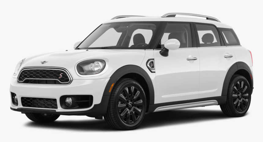 2019 Mini Cooper Clubman All4 & Cooper Countryman All4 - 2018 Mini Cooper Countryman S White, HD Png Download, Free Download